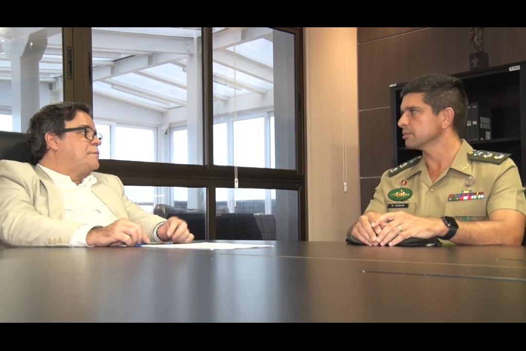 Tutmés Airan discute com o Exército a criação da Guarda Judiciária